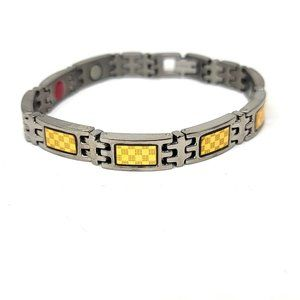 38 Elegant Titanium Magnetic Therapy Bracelet NWT